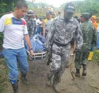 Los rescatistas encontraron los últimos cuerpos del deslave. Foto: Tomada de esmeraldas2012.blogspot.com