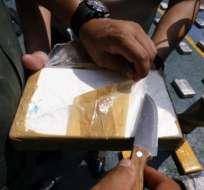 En 72 horas se decomisa tonelada y media de droga en Guayaquil.