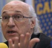 Carlos Bianchi, entrenador del Boca Juniors. Foto: Archivo