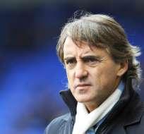 Roberto Mancini es destituido del Manchester City. Foto: EFE
