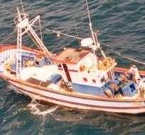 Armada colombiana detiene pesquero y a tres ecuatorianos en el Pacífico. Foto: Andes