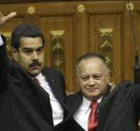 VENEZUELA.- Maduro y Cabello salen al paso a observaciones de la oposición venezolana.