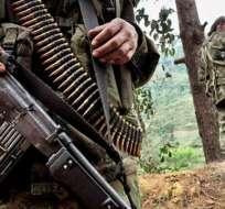 Nueve militares colombianos mueren en un ataque del ELN.
