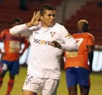 En una noche fantástica Liga venció 3 goles a 1 al Deportivo Quevedo. Foto: API