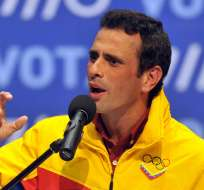"""Capriles dijo """"Venezuela espera la respuesta del Tribunal, recordemos que ahí está la solución""""."""
