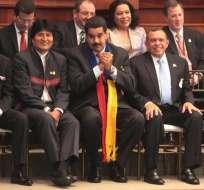 La reunión entre los dos mandatarios se llevará a cabo hoy en Cochabamba. Foto: EFE