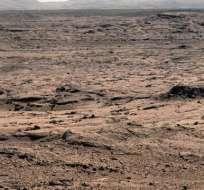 El Curiosity halla nuevos indicios de que alguna vez hubo agua en Marte. Foto: EFE
