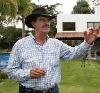 Expresidente de México, Vicente Fox, dice que cultivaría marihuana si fuera legal. Foto: EFE