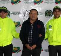Policía de Colombia explica su anuncio de recaptura de narcotraficante. Foto: EFE