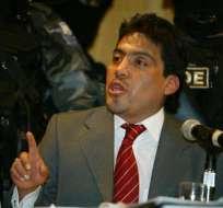 Óscar Caraqui tenía una condena de 16 años de prisión por narcotráfico.