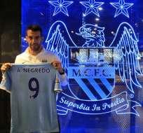 MANCHESTER - Inglaterra.- El Manchester City anuncia el fichaje del español Álvaro Negredo. Fuente @MCFC