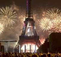 Google presenta su herramienta para visitar la Torre Eiffel. Foto: EFE
