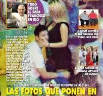 LAS VEGAS - Estados Unidos.- Las fotos que ponen en riesgo el matrimonio de Messi.