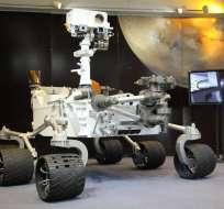 El robot Curiosity cumple en las próximas horas un año de exploración en Marte.