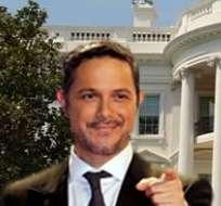 Alejandro Sanz y Ricky Martin, en la Casa Blanca