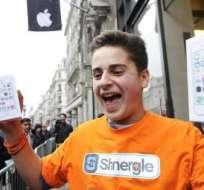 Apple afirma que vendió 9 millones de iPhone 5