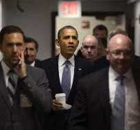 La Casa Blanca se vio dispuesta a una soloción temporal del Congreso. Foto: EFE