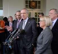 Ambas partes describieron el encuentro como positivo a pesar de no encontrar un acuerdo. Foto: BBC