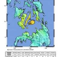 Terremoto de 7.2 grados sacude la isla filipina de Bohol. Foto: EFE