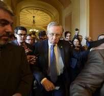 El líder de la mayoría demócrata en el Senado de Estados Unidos que se ha logrado un avance. Foto: EFE