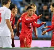 Rusia logra el billete para Brasil y condena a Portugal a la repesca. Fuente EFE