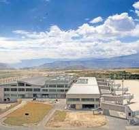 QUITO, Ecuador.- La actual terminal de pasajeros tiene 38.000 m2 de extensión. Foto: Archivo