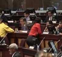 El Comité Disciplinario se reuniría el viernes para evaluar la situación de los legisladores.