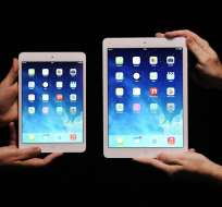iPad Mini 2 y iPad Air. Foto: EFE