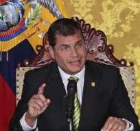 Rafael Correa se reunirá con Putin, Medvédev y Lukashenko y hablará en la Unesco. Foto: Archivo