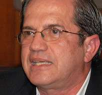 """QUITO, Ecuador.- El canciller Patiño rechazó las declaraciones de Bucaram, a las que calificó de """"insultos"""". Foto: Archivo"""