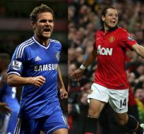 LONDRES, Inglaterra.- Azpilicueta y Mata llevan al Chelsea a cuartos; Chicharito mete al United.