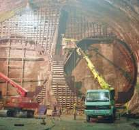 TURQUÍA. El túnel, llamado Marmaray, es parte de las obras de infraestructura con que el país celebra esta semana sus 90 años como Estado moderno y laico. Foto: EFE