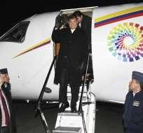 BIELORRUSIA.- Rafael Correa se reunirá en Francia con Hollande y hablará en la Unesco. Foto: EFE