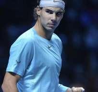 LONDRES, Inglaterra.- Nadal arrolla a Ferrer en la Copa de Maestros. Foto EFE