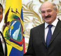 PARÍS, Francia. Correa celebrará posteriormente una conferencia de prensa y a última hora del día mantendrá un encuentro con la comunidad ecuatoriana en Francia. Foto: EFE