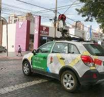 Un auto de Google Street View recorrió una de los principales calles de Brasilia. Foto: dm.com.br