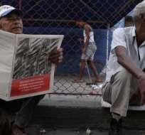 Según el censo del 2012, la edad promedio en Cuba es de 38 años. Foto: BBC