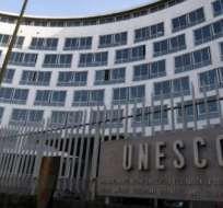 EE.UU.- El conflicto surgió por la decisión de la Unesco de ingresar a Palestina en su lista. Foto: Internet