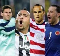 Messi, Vidal, Marcelo, Ospina y Donovan faltan a primera cita de preparación