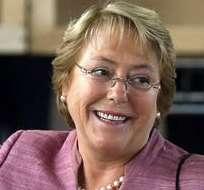 Bachelet toma ventaja según los primeros resultados en Chile. Foto: EFE