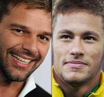 Ricky Martin se declara un admirador de Neymar