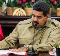 CARACAS.- Nicolás Maduro se blinda con poderes especiales durante un año. Foto: EFE