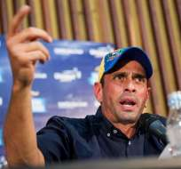 Henrique Capriles critica la concesión de poderes especiales a Nicolás Maduro. Foto: EFE