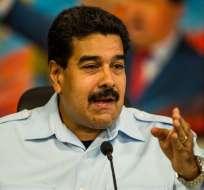 """Maduro dice que con llamado a marcha oposición convoca a """"incendiar el país"""". Foto: EFE"""