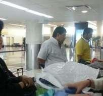 QUITO, Ecuador.- La defraudación aduanera se configura únicamente si el viajero no registró en el formulario correspondiente bienes tributables. Fotos: Senae