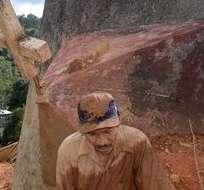 INDONESIA. Las autoridades pidieron a los residentes que extremen las precauciones en especial durante la época de lluvia y por la reciente actividad magmática del Sinabung. Foto: Internet