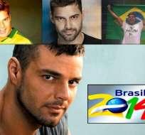 LA FIFA niega haber elegido Ricky Martin como intérprete de música del Mundial