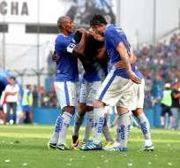 GUAYAQUIL, Ecuador.- El Campeón cierra el 2013 con una goleada. Foto API