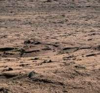Curiosity encuentra pruebas de un antiguo lago en Marte.