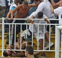 SANTA CATALINA, Brasil.- La seguridad del Mundial de Brasil bajo lupa por actos violentos. Foto AFP